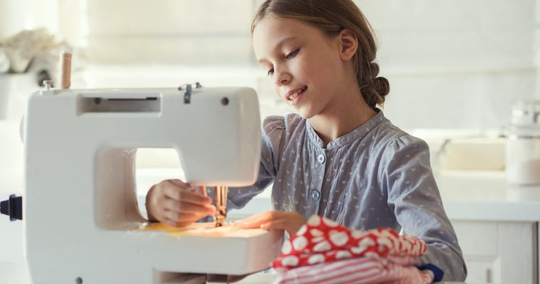 Disse symaskinene passer til barn