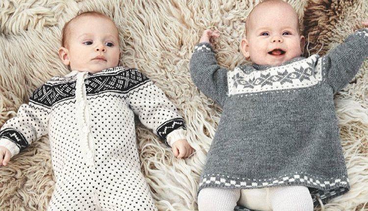 Inspirasjon til babystrikk