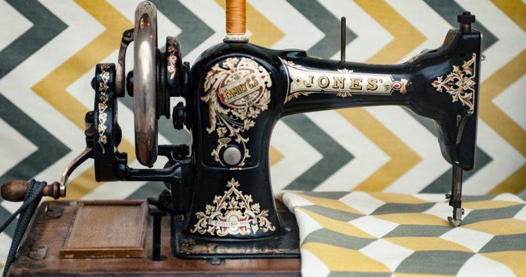 Når symaskinen ble oppfunnet?