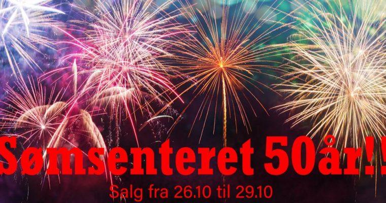 Sømsenteret 50 år!