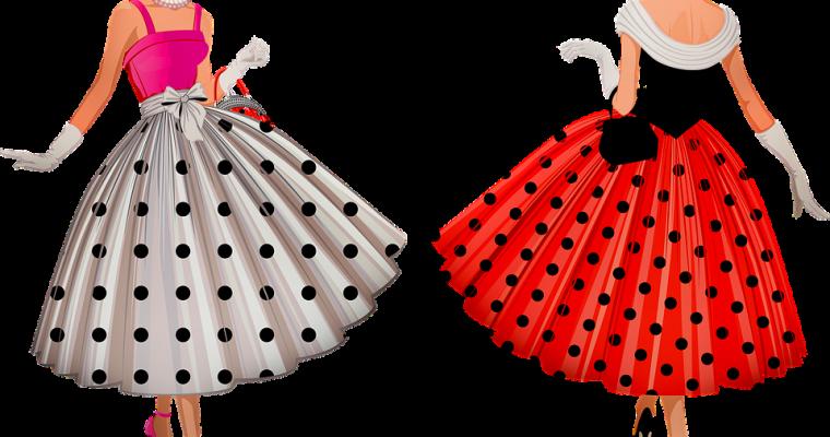 Sy din egen 50-talls kjole – Finn inspirasjon til tekstiler og mønster