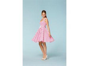 50-talls kjole fra Burda symønster