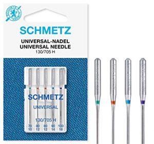 Hvilken nål til symaskiner? Bildet viser universalnåler.