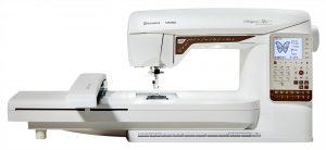 Husqvarna Viking Designer Topaz 25 - Et litt billigere alternativ til symaskin med brodering.
