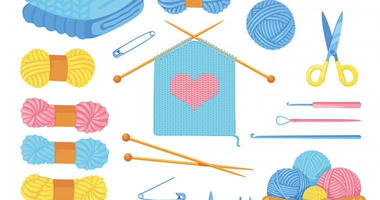 3 enkle strikkeoppskrifter alle får til