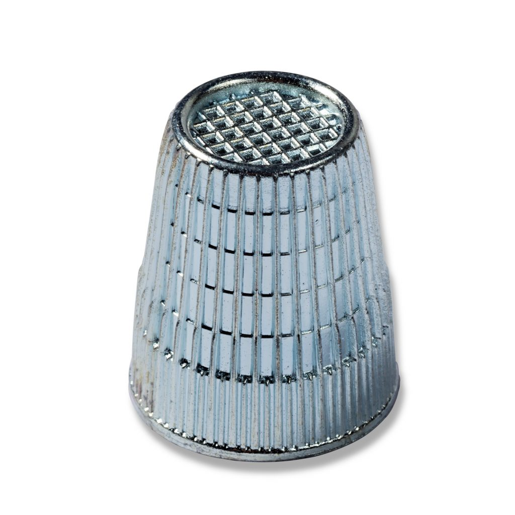 Fingerbøl i metall