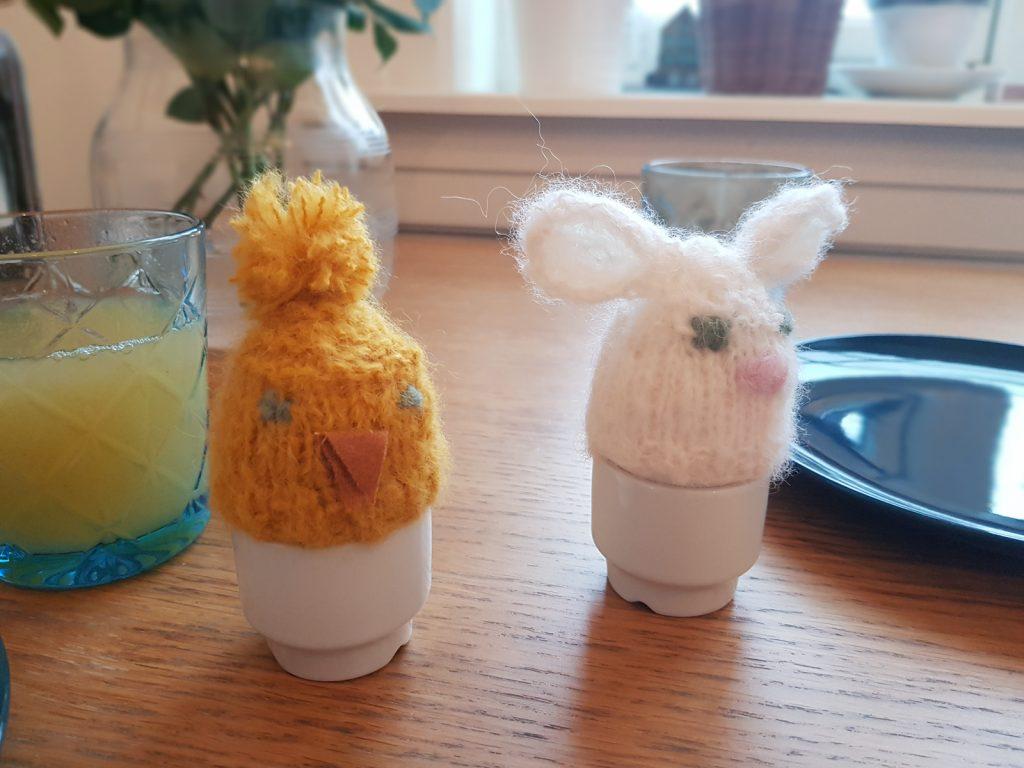 Påskestrikk - eggevarmere!