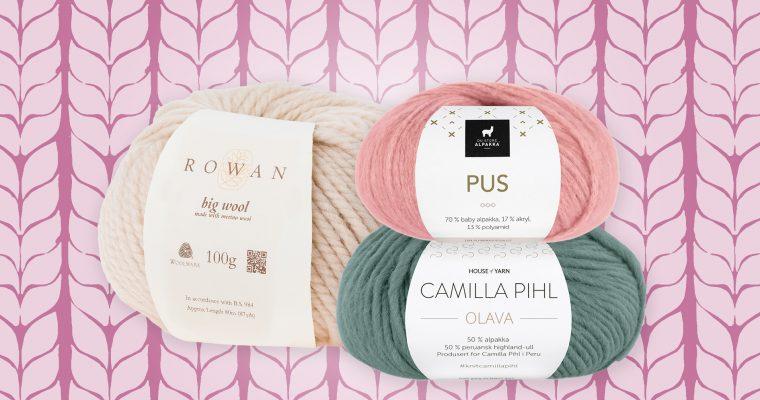 Tykt garn gjør at strikkingen går fortere – her er våre favoritter