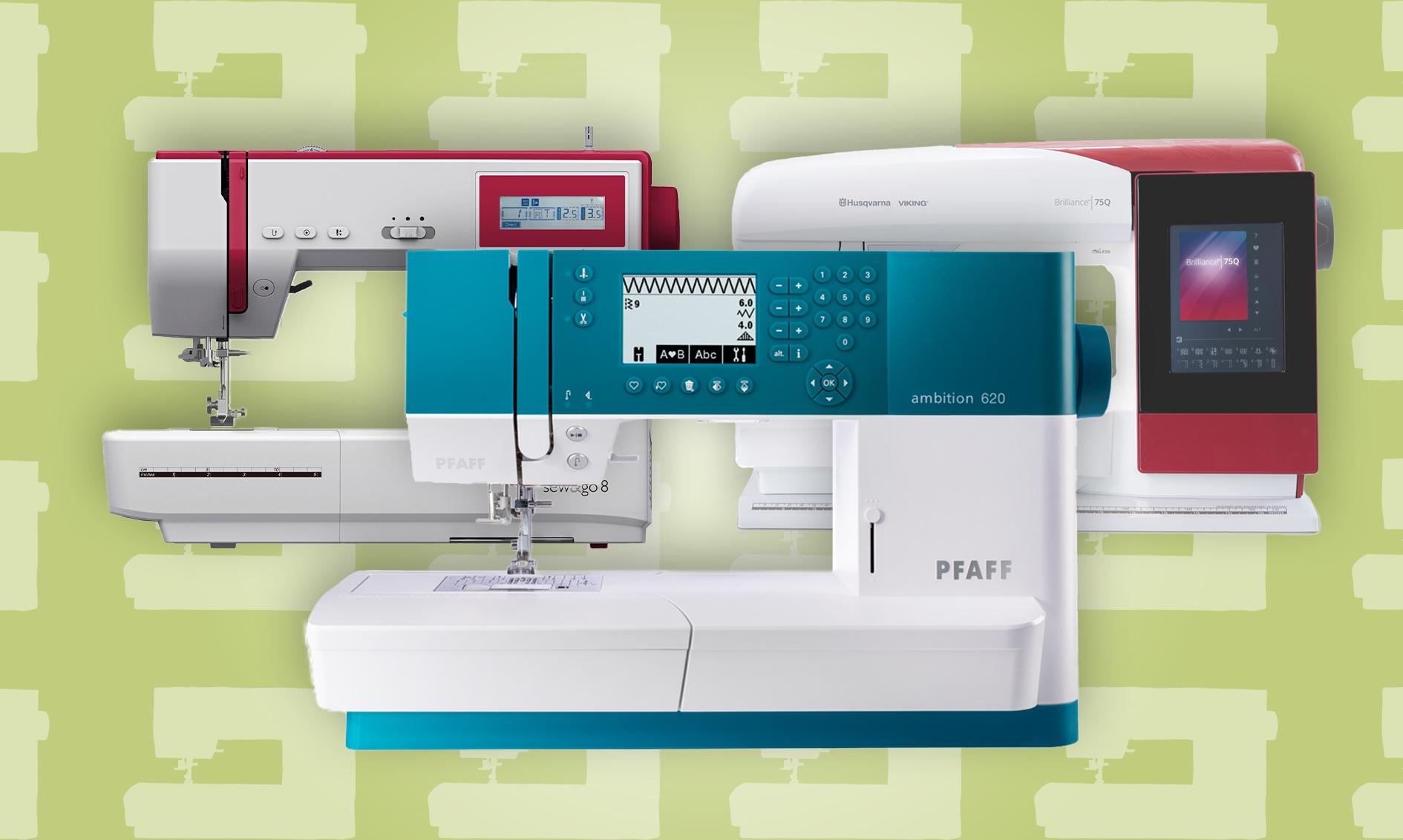 Disse symaskinene kan sy bokstaver