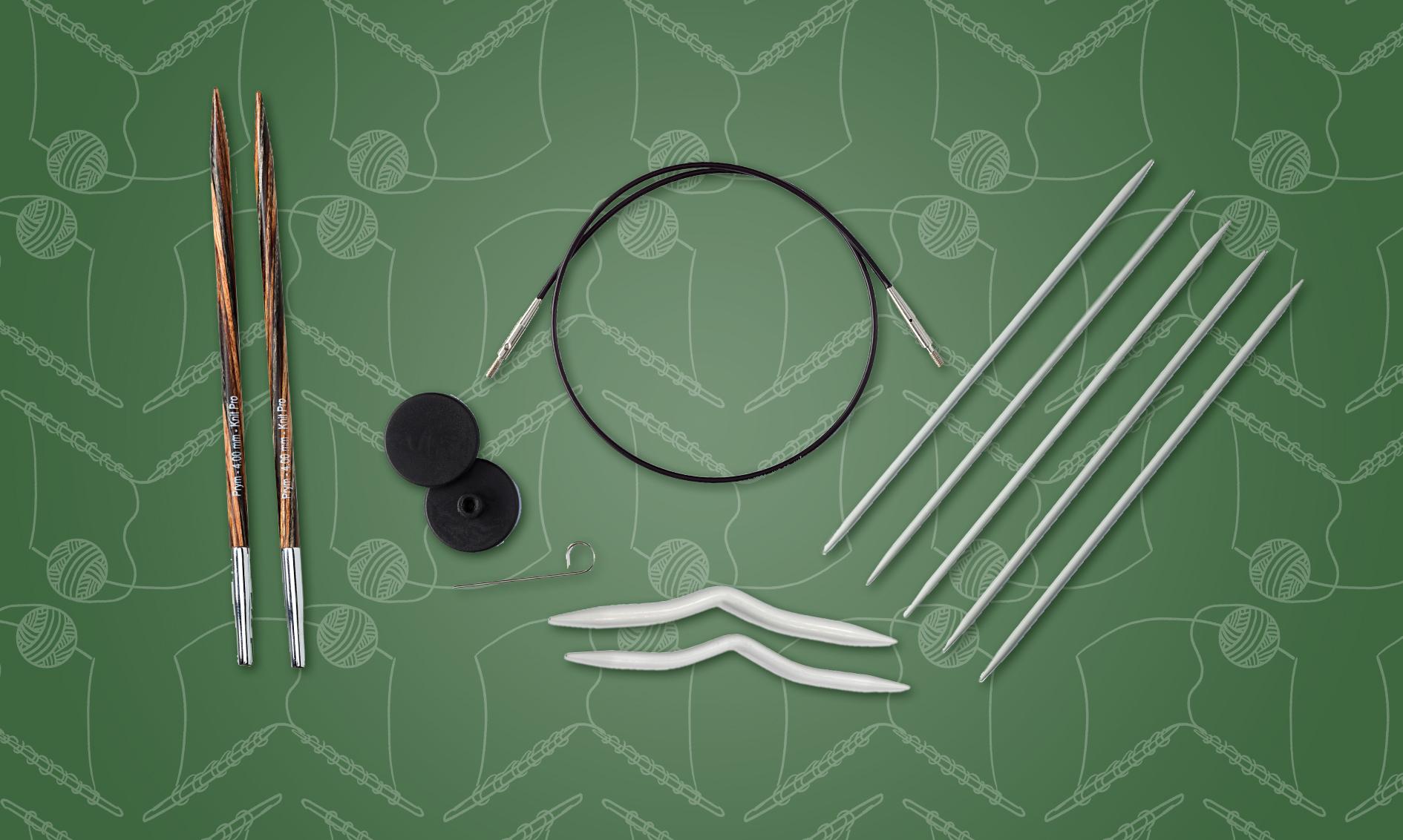 Anbefalte strikkepinner basert på strikkeprosjekter og garn